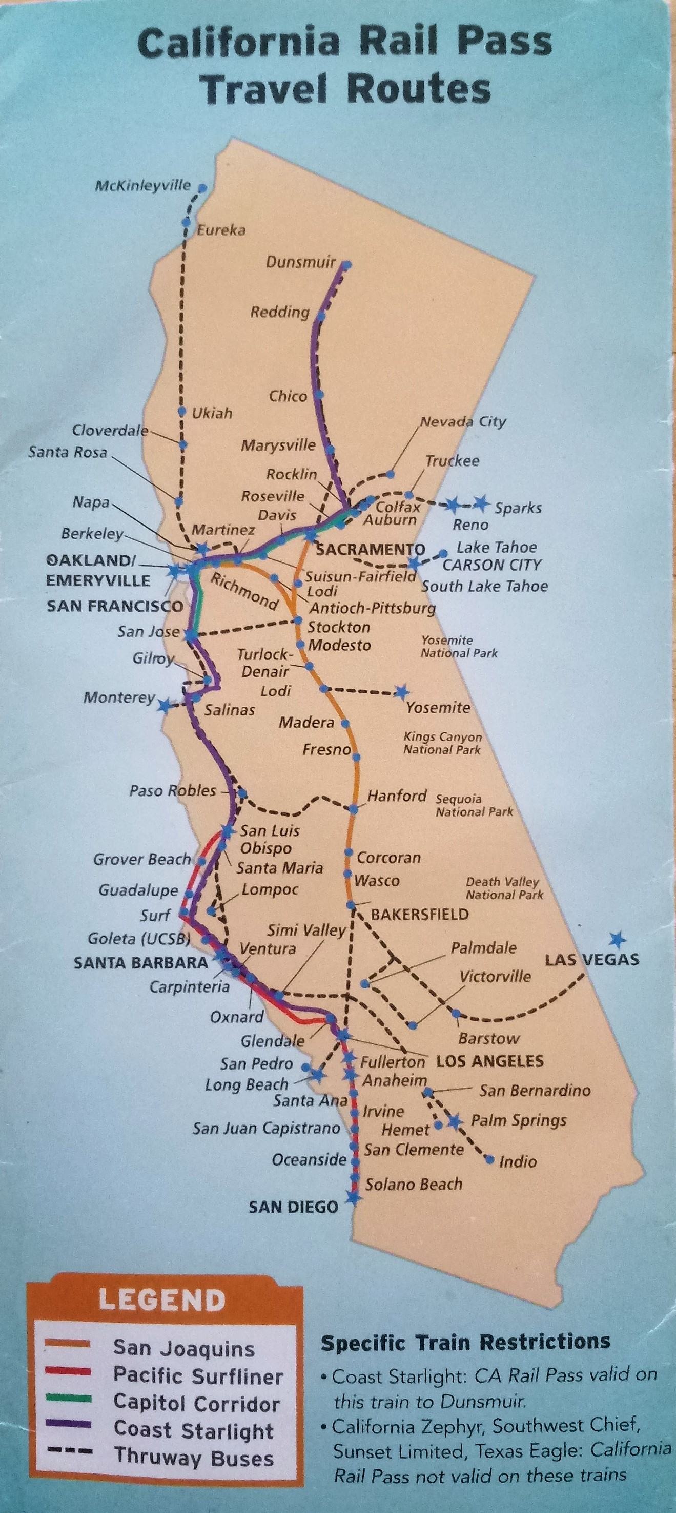 California by Train | The Green Stars Project on california tourist map, california northern railroad map, california waterfalls map, japan bullet train map, northern california train map, california train vacations, california high speed train map, california railway map, california amusement parks map, california train map freight tracking, ca bullet train map, california layout map, california missions map by train, california bullet train,